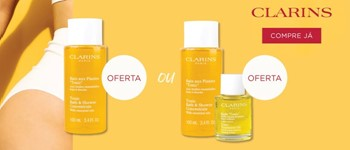 Oferta exclusiva clarins
