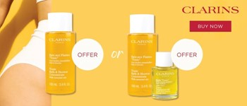 Clarins exclusive offer