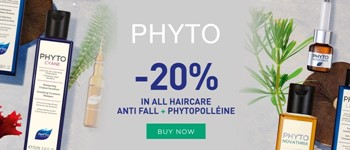 Phyto - 20% discount