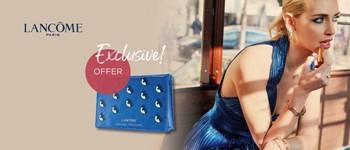 Lancome exclusive offer chiara ferragni