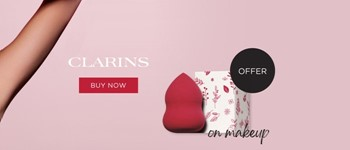 Offer blender on clarins makeup purchases!