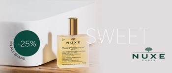 Nuxe 25% off | sweetbrand