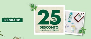 Klorane | -25% nos cuidados de higiene!