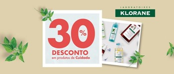 -30% natural days | cuidados klorane