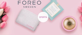 Foreo | oferta bolsa + pack máscaras make my day