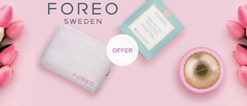 Foreo | offer pouch + pack make my day masks