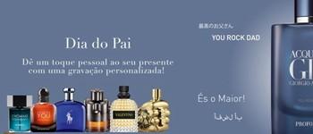 Dia do pai | oferta - gravação no perfume selecionado!