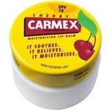 Carmex Boião bálsamo labial hidratante lábios secos e gretados cereja 7,5g