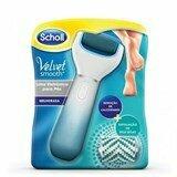 Velvet smooth lima elétrica calos exfoliação pele seca azul