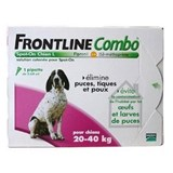 Combo spot on 1 pipette dogs l  20-40 kg
