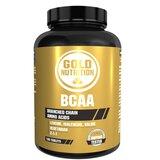 gold nutrition bcaa's aminoácidos ramificados 180comp