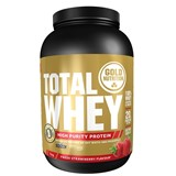 Gold Nutrition Total whey proteína sabor morango 1kg