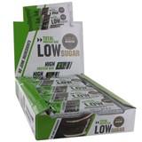 Gold Nutrition Total low sugar barra de proteína sabor bolacha com natas 10x60g