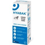 Hyabak 0,15% hypotonic solution hydrating and lubricant 10ml