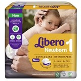 diapers newborn (2-5kg) pack 28 units