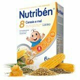 8 cereals & honey with adapted milk 600g