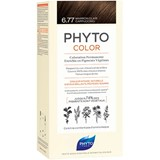 phytocolor permanent hair dye 6.77 hazelnut cappuccino brown