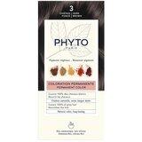 Phyto Phytocolor coloração permanente 3 castanho escuro