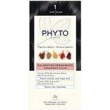 phytocolor permanent hair dye 1 black