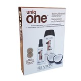 uniqone all in one shampoo coconut 300ml + treatment spray coconut 150ml