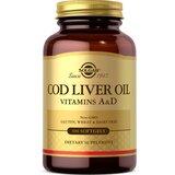 óleo de fígado de bacalhau 100cápsulas
