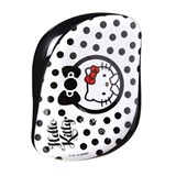 Tangle Teezer Escova compact hello kitty branco e preto