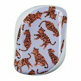hairbrush compact  trendy tiger