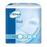 Tena Bed plus resguardos descartáveis para cama 60x60cm 40unid