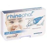 aspirador nasal para bebé + 3 filtros