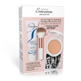 lait-crème concentré 24-hour miracle cream 75ml + compact powder + powder brush