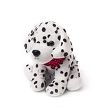 cozy plush pet dalmatian