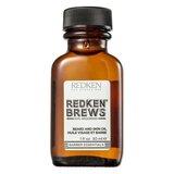 Redken brews óleo amaciador de barba e rosto 30ml