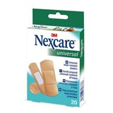 universal band aid water resistant with mutiple sizes 20 units