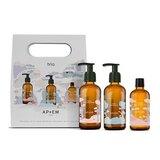 coffret kids óleo de banho 50ml + óleo de massagem 50ml + gel de banho 50ml