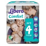 diapers comfort 7-11kg, 26 units