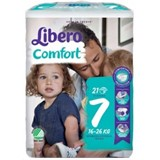 diapers comfort 16-26kg, 21 units