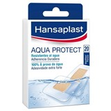 aqua protect waterproof plasters  2 sizes 20units