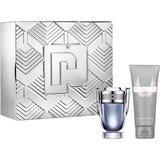 gift set invictus edt 50ml+ shower gel 100ml+travelsize edt 10ml