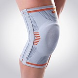 knee support closed knee-cap with flexible bars and cushion size 3/l
