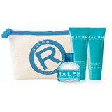 coffret ralph eau de toilette 100ml + loção corporal 100ml + gel duche 100ml