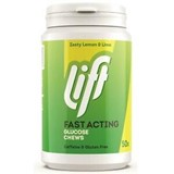 glucotabs/lift lemon and lime flavor 50tablets