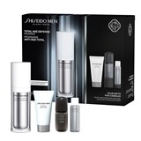 coffret total revitalizer fluído 80ml + espuma limpeza 30ml+total rev. olhos 3ml