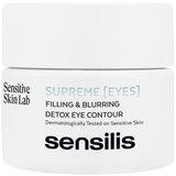 Sensilis Supreme renewal detox tratamento contorno de olhos 15ml