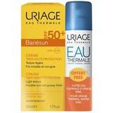 Uriage Bariésun creme protetor solar com perfume spf50 50ml + água termal 50ml