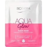 aqua glow super sheet mask 31gx1 un.