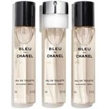 Chanel Bleu de chanel eau de toilette twist&spray recarga 3x20ml