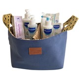 blue essential basket
