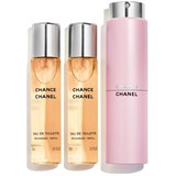 Chanel Chance eau de toilette twist&spray 3x20ml