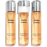 Chanel Chance eau de toilette recargas twist&spray 3x20ml