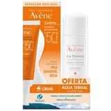 Avene Creme solar pele sensível spf50+ 50ml + água termal 50ml